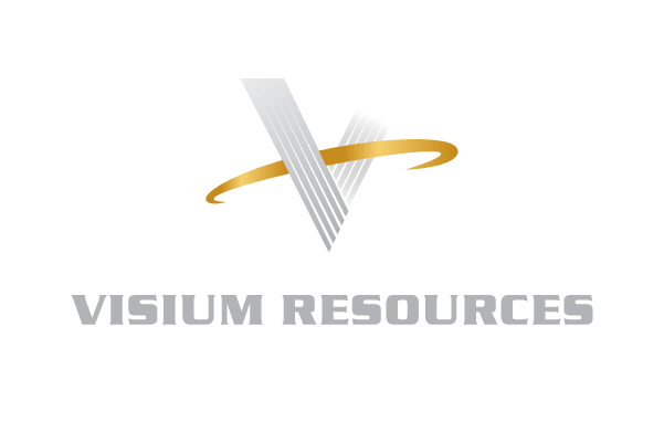 Visium Resources with White V